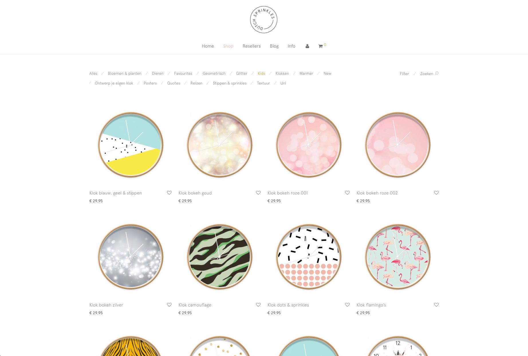 Dutch Sprinkles – DTP: opmaak bestanden en beeldmateriaal site.